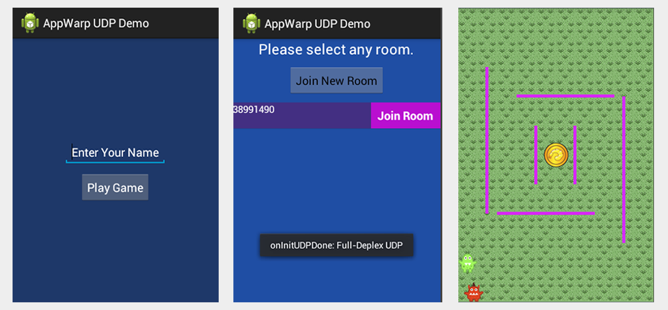 game using udp Create UDP Based Multiplayer game using AppWarp