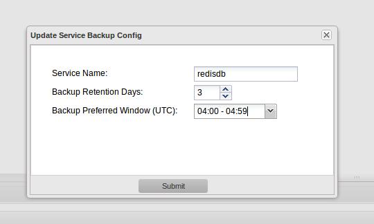 App42 Backup Config