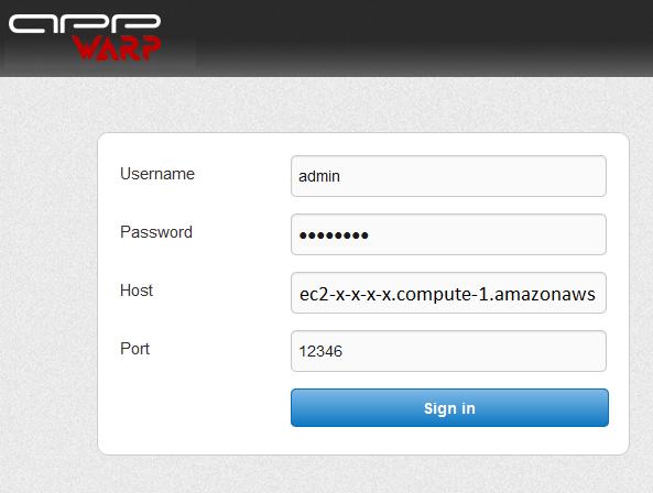 gpaas dashboard Getting Started with GPaaS on App42 PaaS