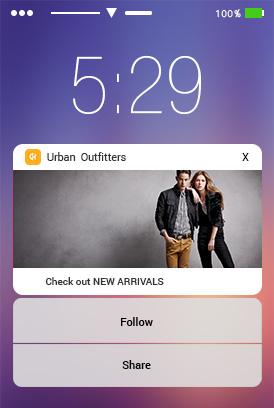 custom layouts in push notification in iOS 10