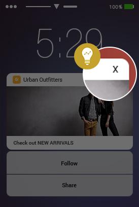 intelligence in push in iOS 10