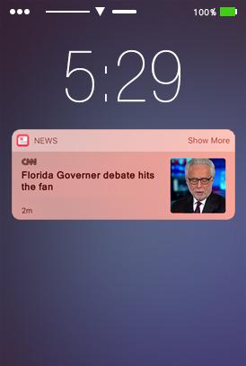 iOS 10 rich push notifications