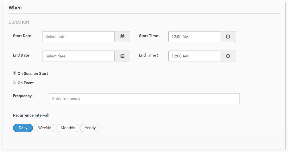 schedule in-app